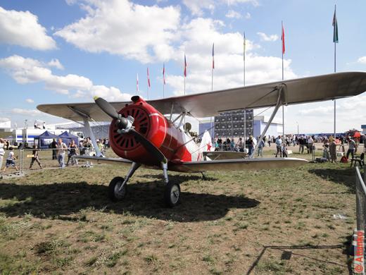 Самолёт ДИТ ведёт свою историю с 1938 года. Самолёты времён Второй мировой войны на МАКС-2011