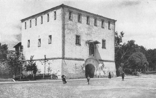 Дмитровская (Дмитриевская) башня Нижегородского Кремля до перестройки 1895 года. Фото: Максим Петрович Дмитриев