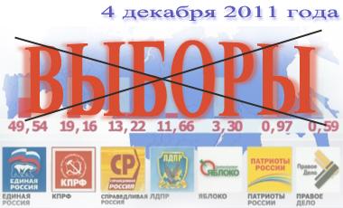 Выборы в Государственную Думу РФ 4 декабря 2011 года. Пара слов о выборах и о нас