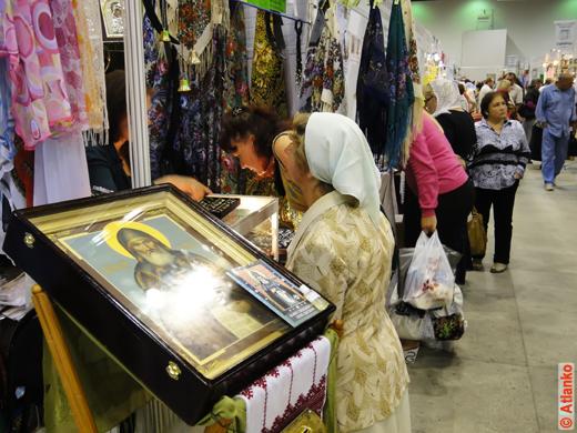 Икона на 17-й православной выставке-ярмарке Нижегородский край - Земля Серафима Саровского