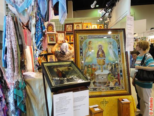 Иконы на 17-й Международной православной выставке-ярмарке Нижегородский край - Земля Серафима Саровского