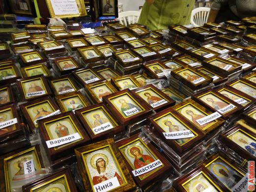 Именные иконы на православной выставке-ярмарке Нижегородский край - Земля Серафима Саровского