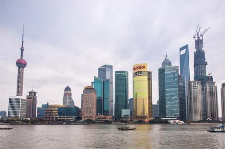 Китайская мечта. Небоскрёбы Шанхая. Глобальный мировой проект. Фото Andrew Rochfort
