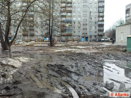 Красивый двор. Проблема городских дворов в Нижнем Новгороде