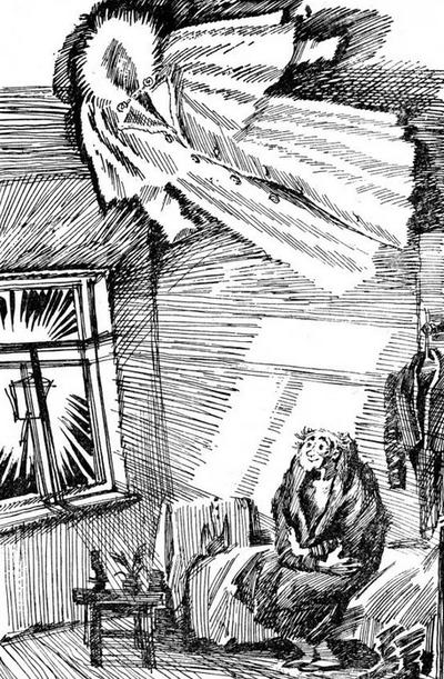 Материальное и духовное в мире человека современного... Н.Г. Гольц, иллюстрация к повести Н.В. Гоголя Шинель