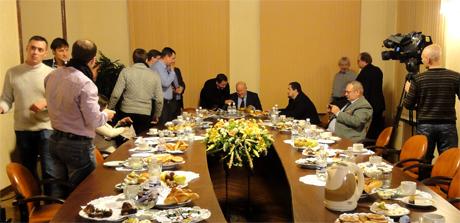 Пятая встреча губернатора Нижегородской области В.П. Шанцева с блогерами. 3 ноября 2012 года