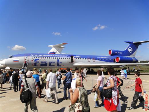 Самолёт Ту-154М - лётно-исследовательский институт имени М.М. Громова