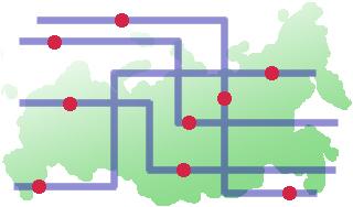 Общественный транспорт на карте в вашем коммуникаторе. ГЛОНАСС-навигаторы