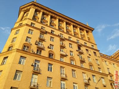 Дом на Кутузовском проспекте, сталинская архитектура. Москва. Фотография