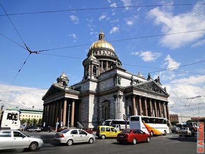 Исаакиевский собор (собор преподобного Исаакия Далматского). Санкт-Петербург. Фотография