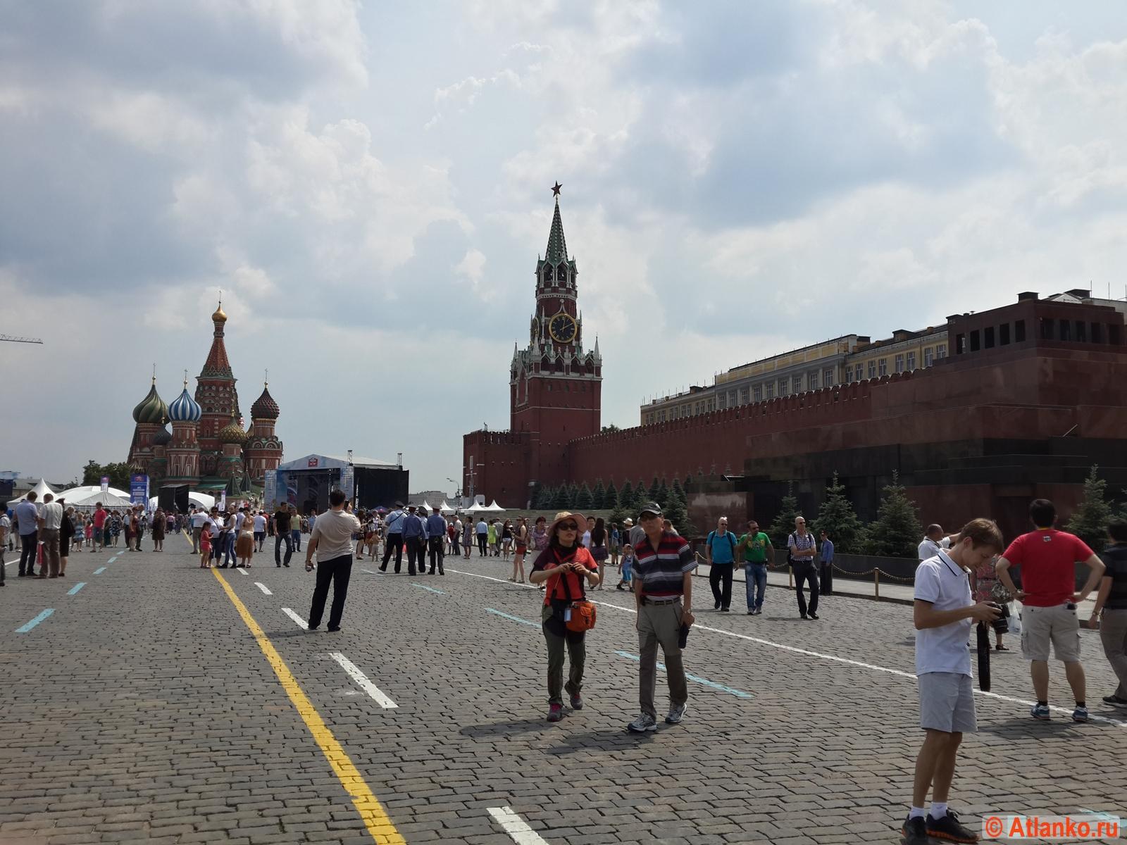Красная площадь - главная площадь России. Москва. Фотография