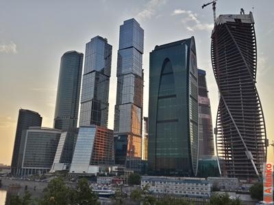 Московский международный деловой центр Москва-Сити. Москва. Фотография