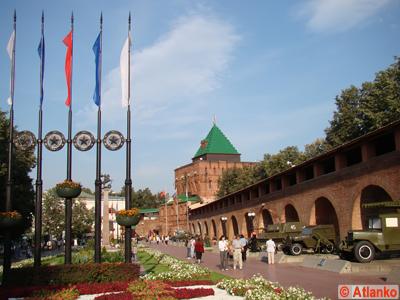 Нижегородский Кремль, Дмитриевская башня. Нижний Новгород. Фотография