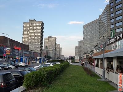 Улица Новый Арбат. Москва. Фотография