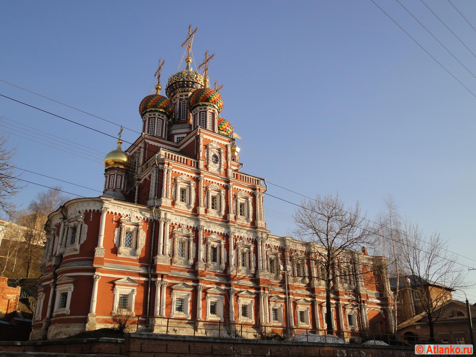 Рождественская (Строгановская) церковь. Нижний Новгород. Фотография