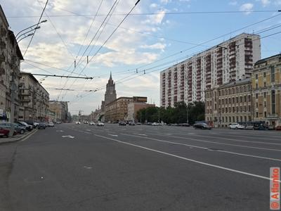Смоленский бульвар. Москва. Фотография