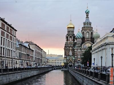 Храм Спаса-на-Крови (собор Воскресения Христова на Крови), канал Грибоедова. Санкт-Петербург. Фотография